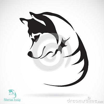 Free Vector Image Of A Dog Siberian Husky Royalty Free Stock Image - 39236116
