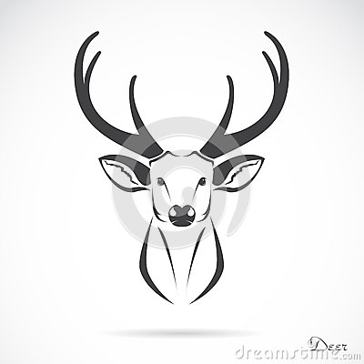 Free Vector Image Of An Deer Head Stock Photo - 36120990