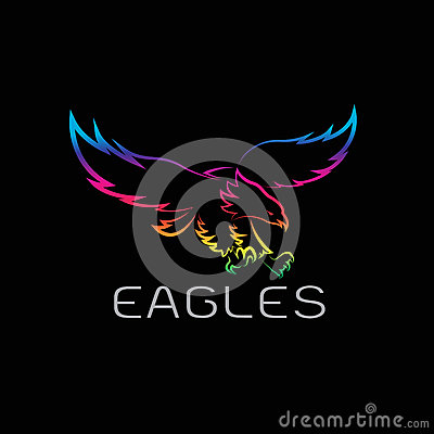 Free Vector Image Of An Eagles Design Royalty Free Stock Photos - 72706758