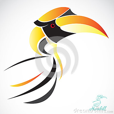 Free Vector Image Of An Hornbill Stock Photos - 31774703