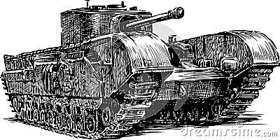 Ancient tank