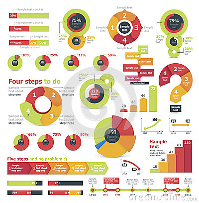Vector Infographic Elements Royalty Free Stock Photography - Image ...