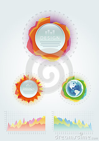 Vector Infographics Elements.