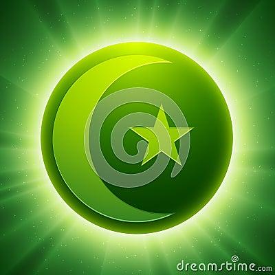 Vector Islam Symbol