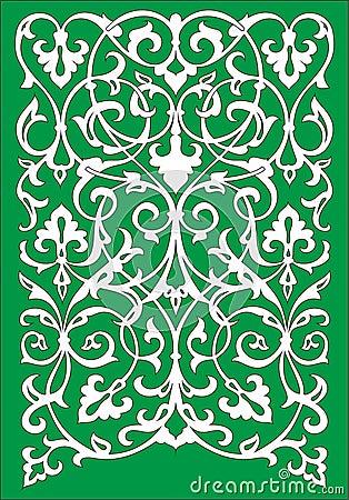 islamic greeting card template for ramadan kareem or