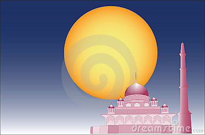 Vector of Islamic mosque