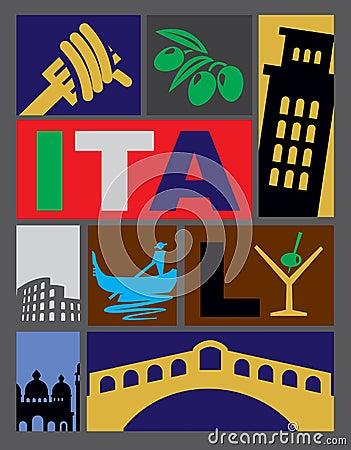 Vector Italy