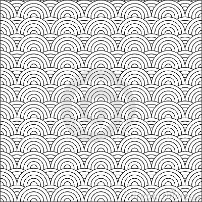 Vector japanese pattern