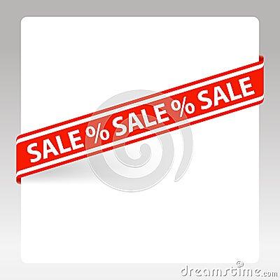 Vector label Sale
