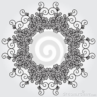 Vector lace element