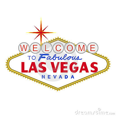 VECTOR: LasVegas sign at day (EPS format available)
