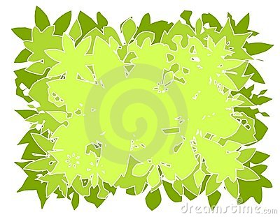 Vector Leaves Background