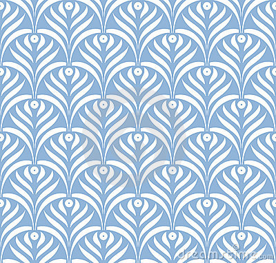 Free Vector Leaves Ornament Seamless Pattern Stock Photo - 24248020