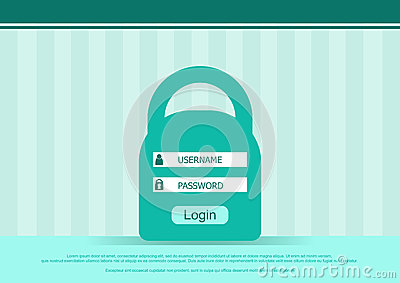 how to build a login password html form