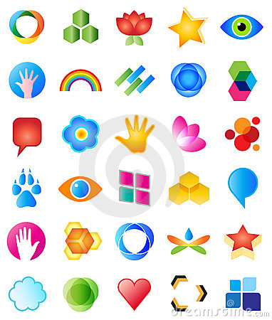 Free Vector Logo Design Elements Stock Image - 18199051