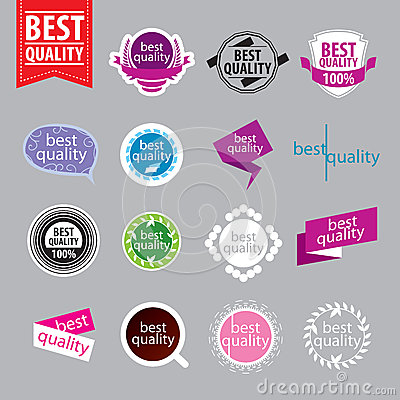 Vector logos of better quality