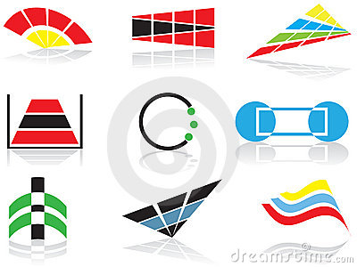 Vector logos and elements