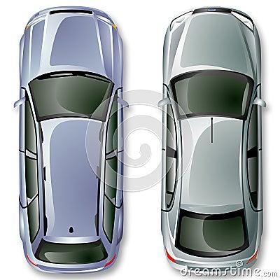 Vector los coches alemanes.