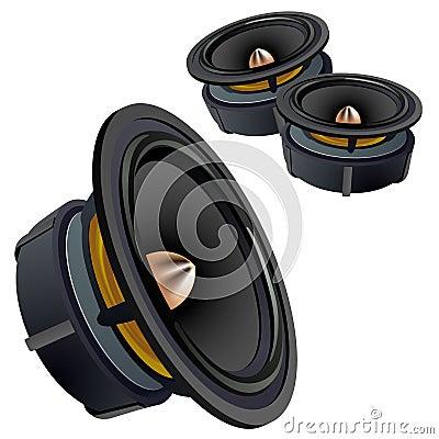 Vector loudspeakers.