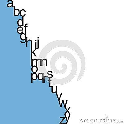 Vector Lowercase Typography