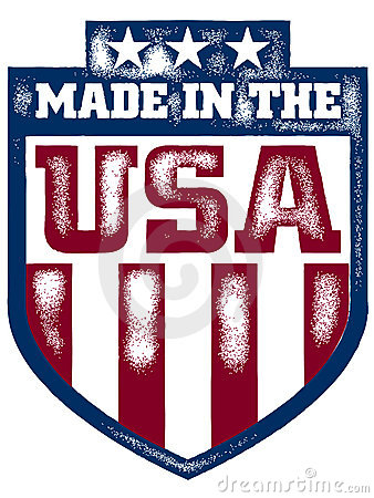 vector made in the usa shield stock images image 18107974