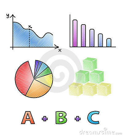 Free Vector Mathematical Icons Royalty Free Stock Photos - 19449988