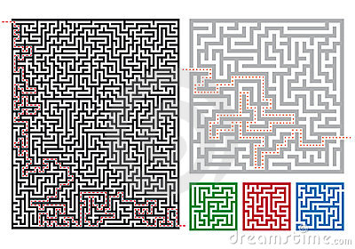 Vector mazes