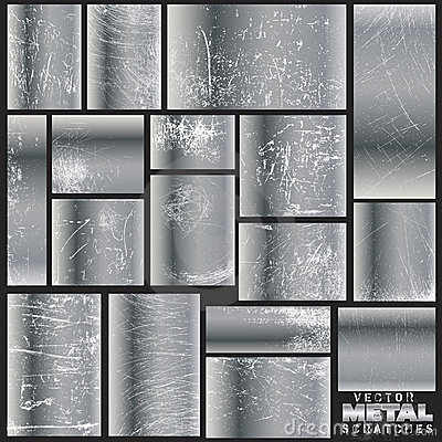 Vector metal scratches