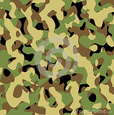 Vector military pattern