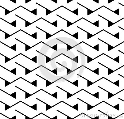 Free Vector Modern Abstract Geometry Triangle Pattern. Black And White Seamless Geometric Background Stock Photography - 78974632