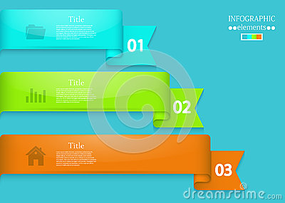 Vector modern infographic element design. Eps 10