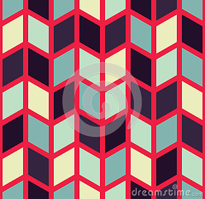 Free Vector Modern Seamless Colorful Geometry Chevron Pattern, Color Abstract Royalty Free Stock Photos - 67288958
