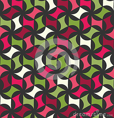 Free Vector Modern Seamless Colorful Geometry Floral Pattern, Color Abstract Royalty Free Stock Photo - 71468445