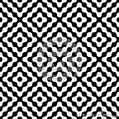 Free Vector Modern Seamless Geometry Pattern Diamonds Royalty Free Stock Images - 59590579