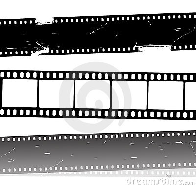 Vector movie film strips