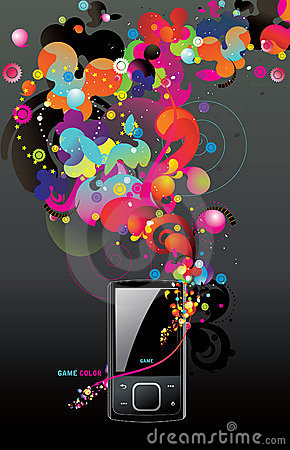 Free Vector Mp3 Player Royalty Free Stock Photos - 13959888