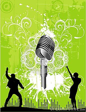 Free Vector Music Illustration Royalty Free Stock Photos - 5588468