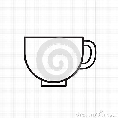 Free Vector Of Coffee Cup Icon Stock Photography - 100540952
