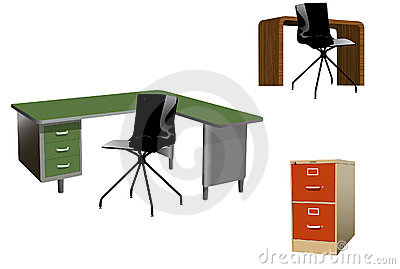 Vector Office Furniture Pack