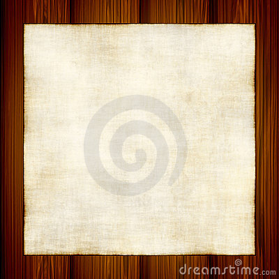 Free Vector Old Paper On Wood Royalty Free Stock Photography - 7933717