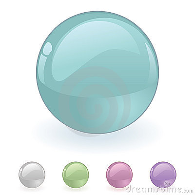 Vector orb Button