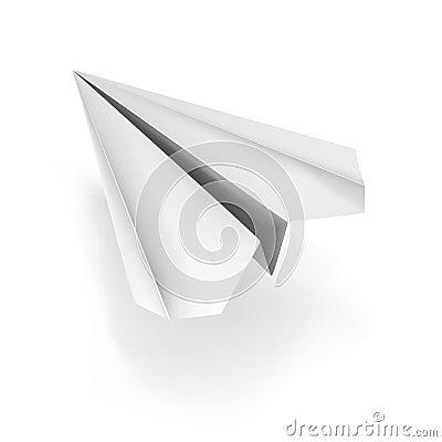 VECTOR origami plane