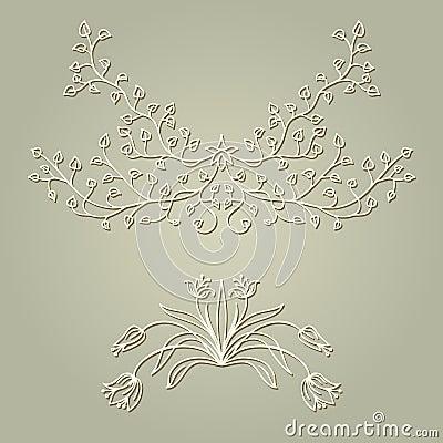 Vector ornament.