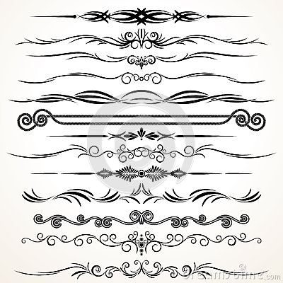 Free Vector Ornament Design Royalty Free Stock Image - 27290156