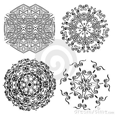 Vector ornaments