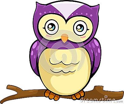 vector Owl illustration