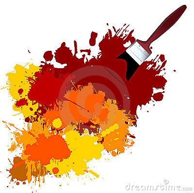 Free Vector Paint Royalty Free Stock Photos - 2891408