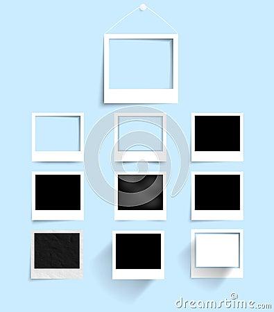 Free Vector Palaroid Pattern 29.04.2013 Stock Images - 30822744