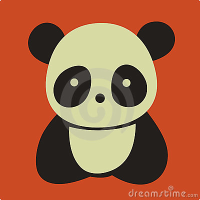 Free Vector Panda Stock Photography - 8763752