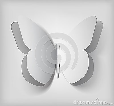 Vector Paper butterfly